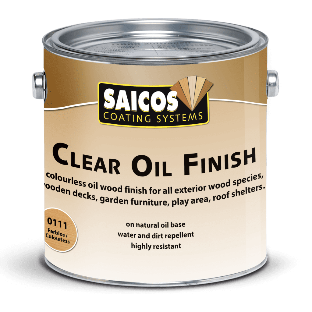 Saicos Clear Oil Finish englisch