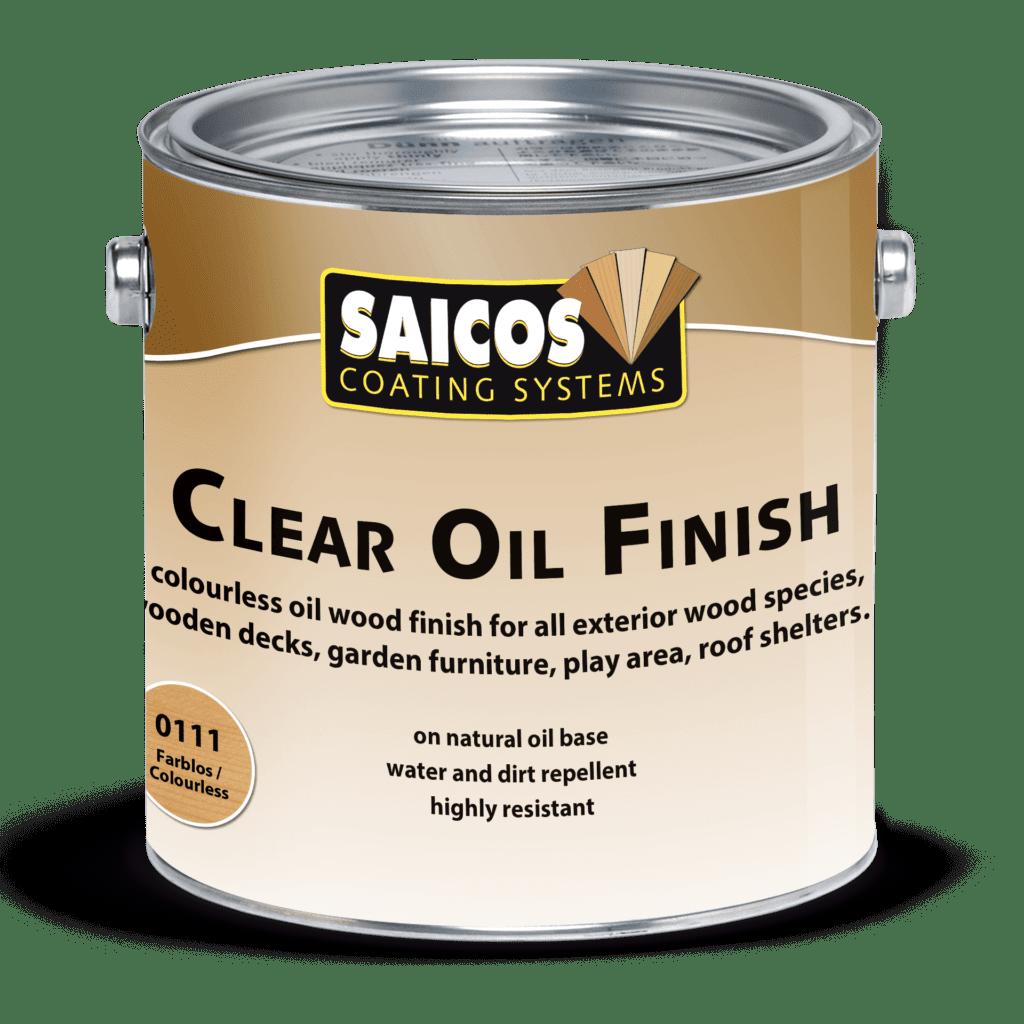Saicos Clear Oil Finish englisch