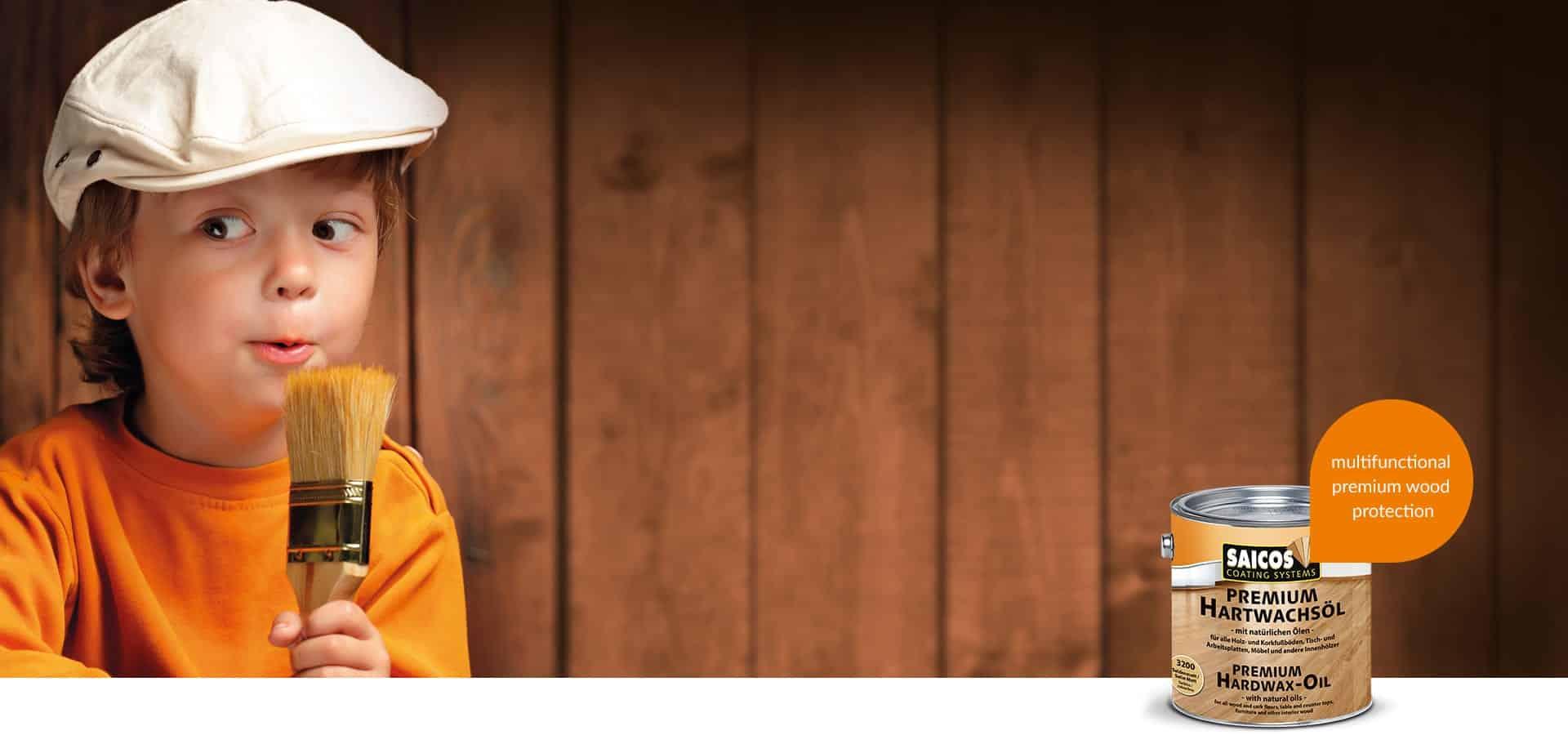 Saicos Premium Hartwachsöl Holzpflege ökologisch