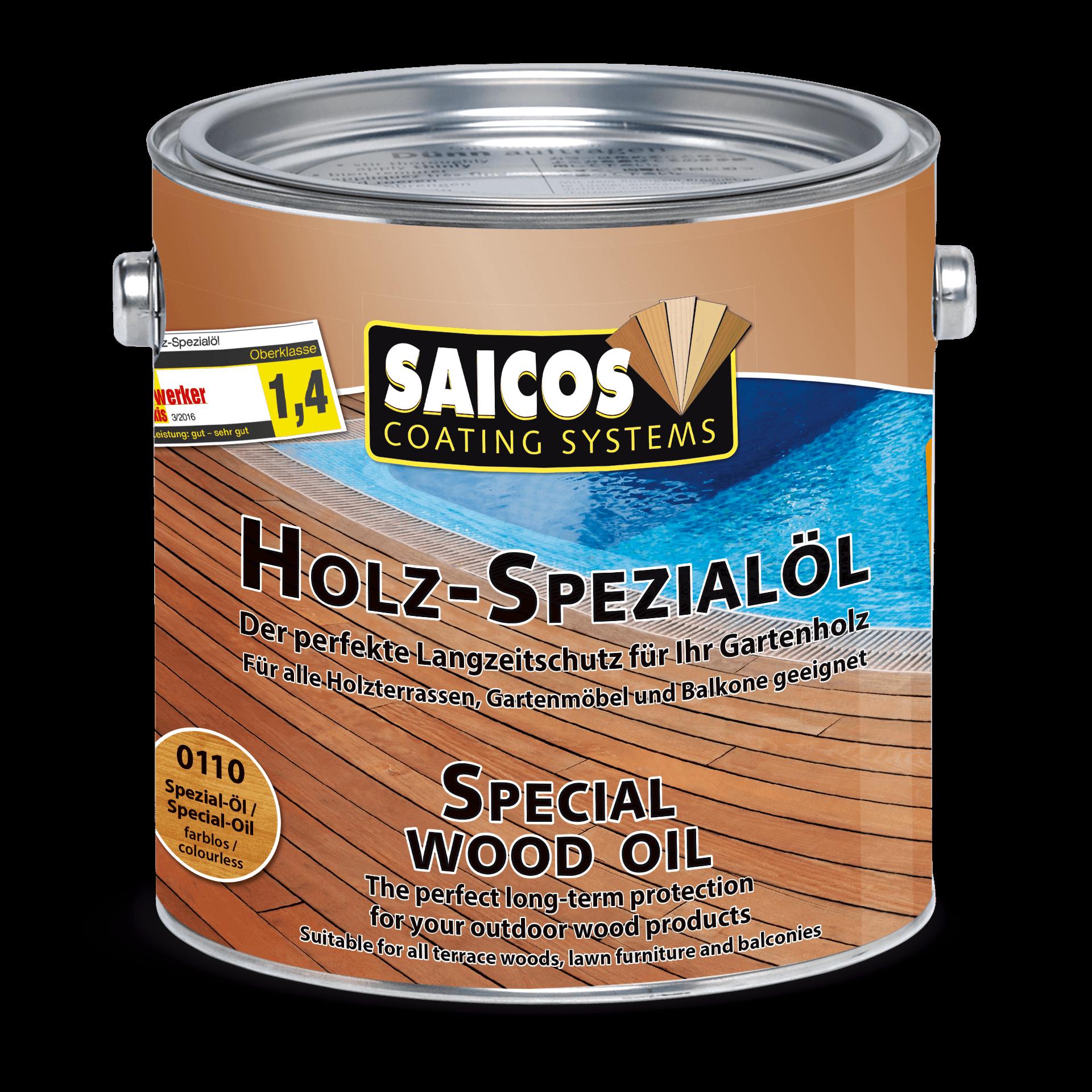 Saicos Holz-Spezialöl Holzpflegeöl