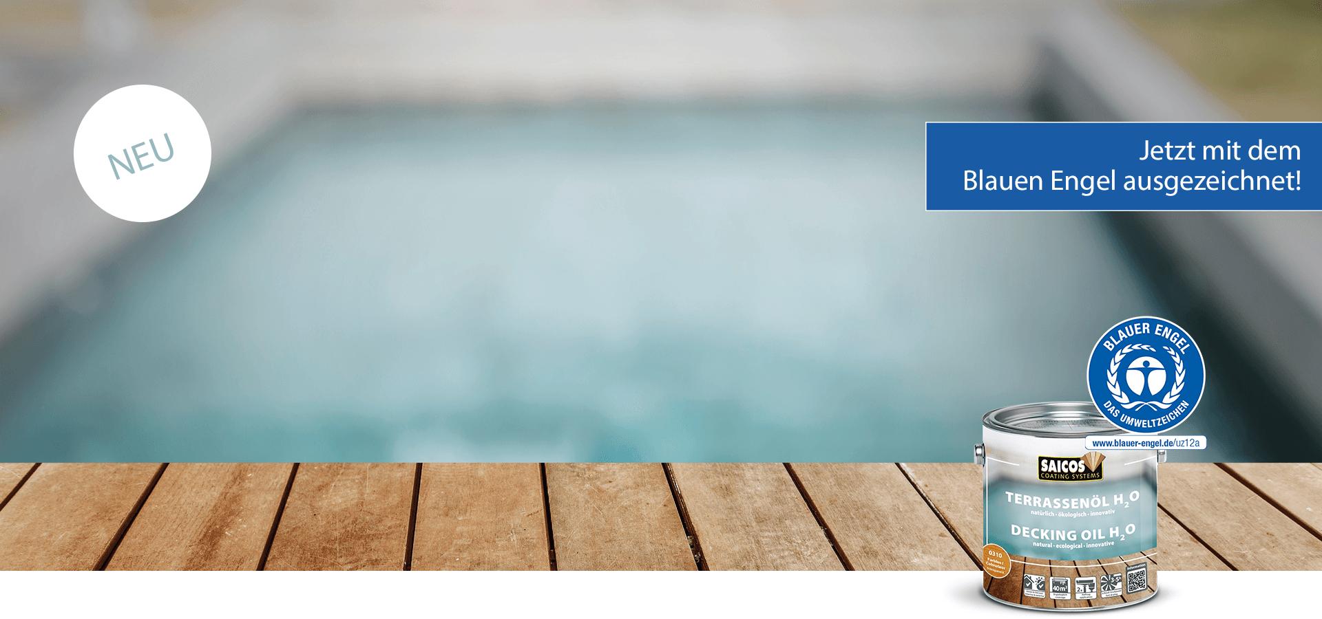 Saicos Terrassenöl H2O blauer engel