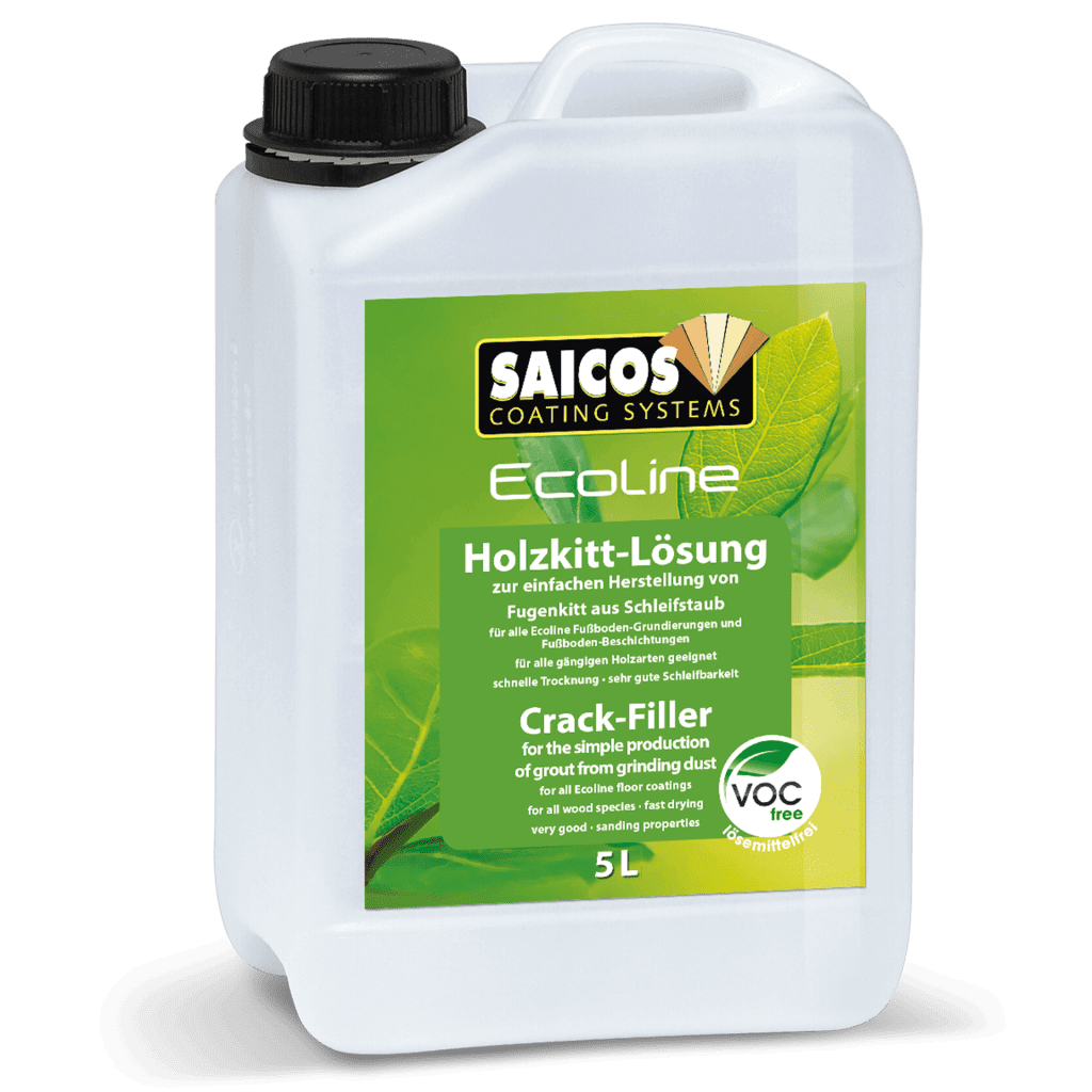 Ecoline Saicos Crack FillerHolzkittlösung
