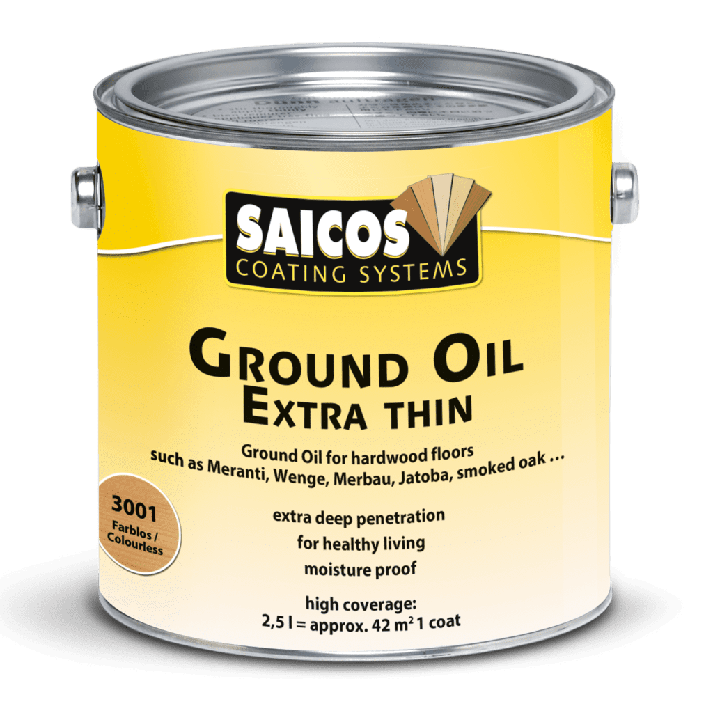Saicos Ground Oil extra thin englisch