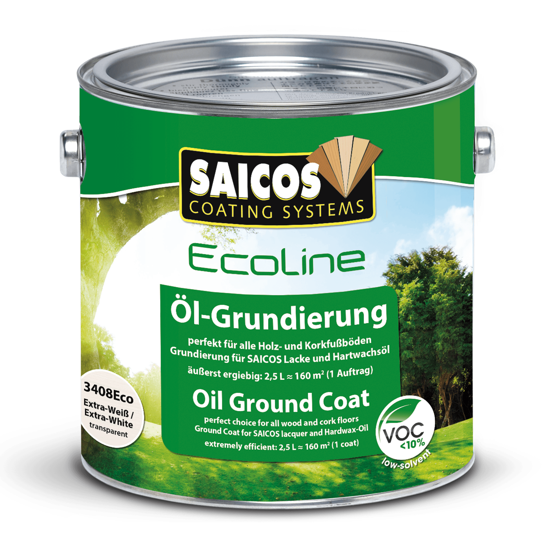 Saicos Ecoline Hartwachsöl ökologisch umweltfreundlich
