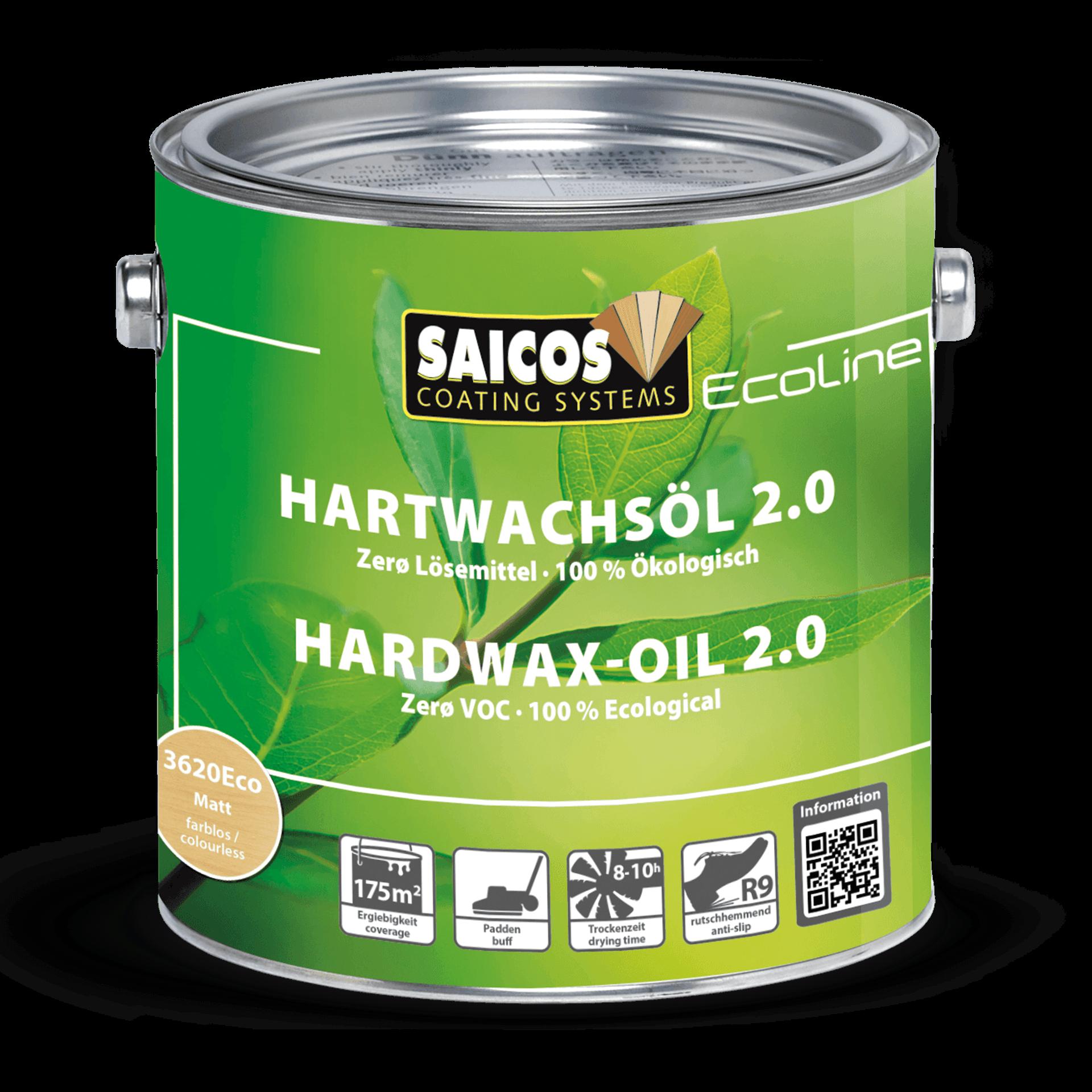Saicos Ecoline Hartwachsöl 2.0 lösemittelfrei ökologisch