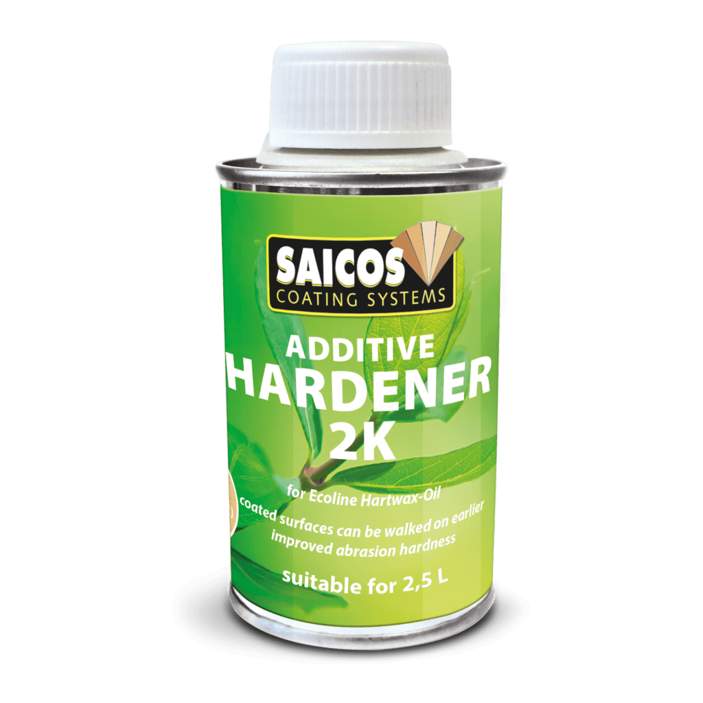 Saicos Ecoline Hartwachsöl Additive Hardener 2K englisch