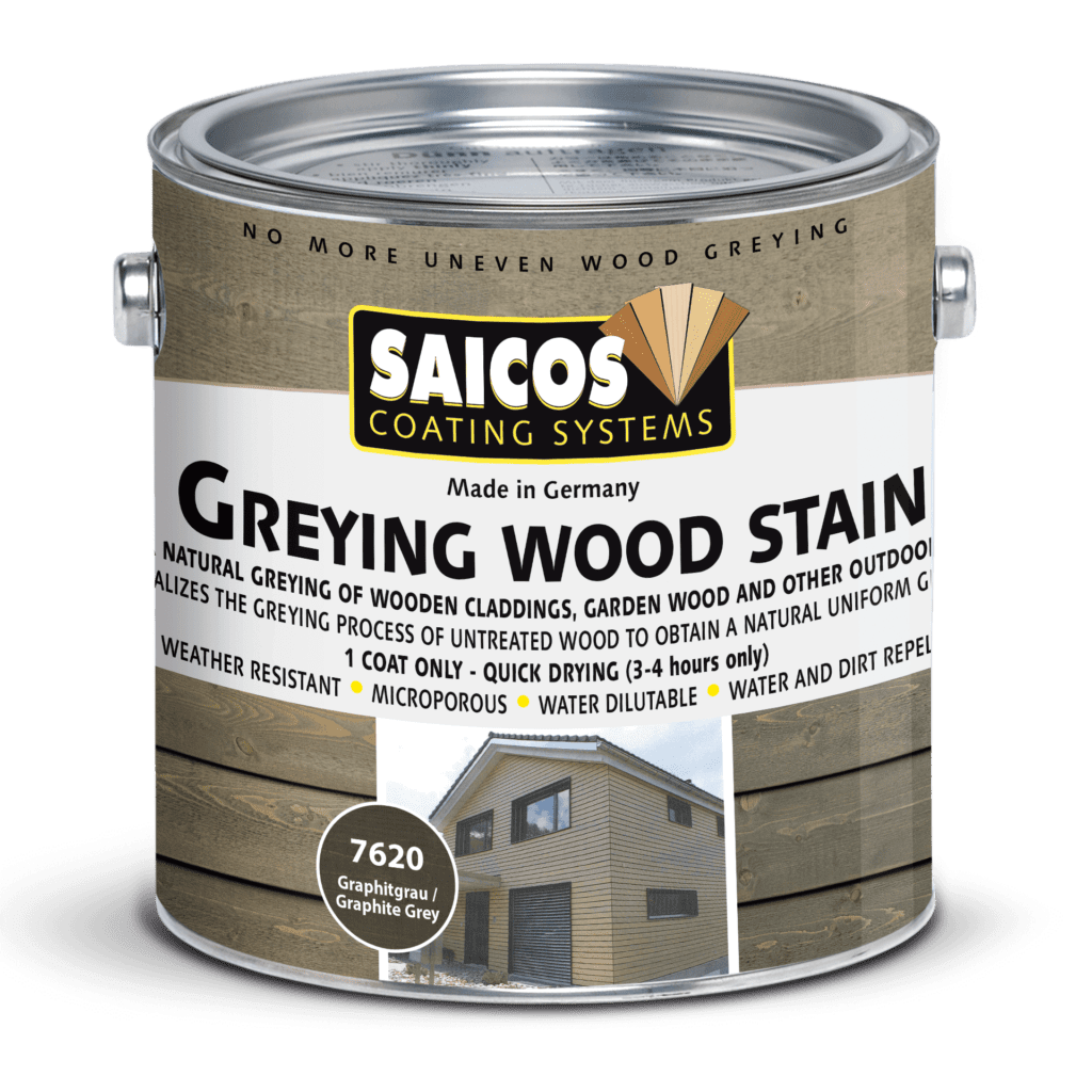 Saicos Greying Wood Stain englisch