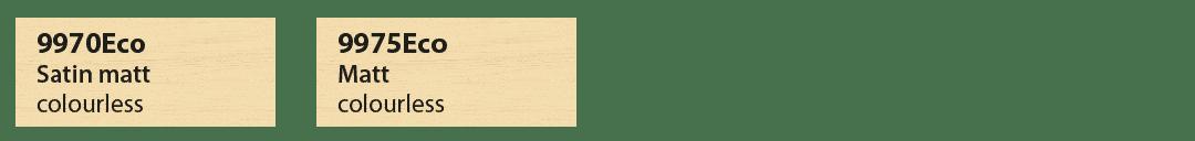 Saicos Ecoline Futur 2K Farbtafel