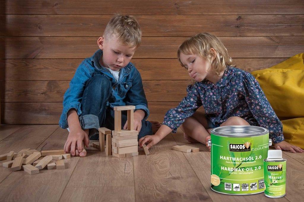 lösemittelfreie Ecoline Hartwachsöl 2.0 Hardwax-Oil solvent-free ökologisch ecological grün natürlich natural