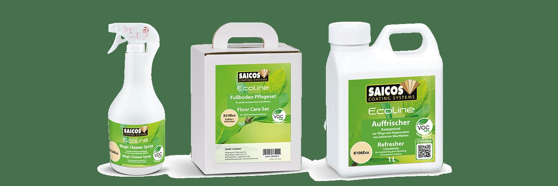 Saicos Ecoline Reinigung und Pflege