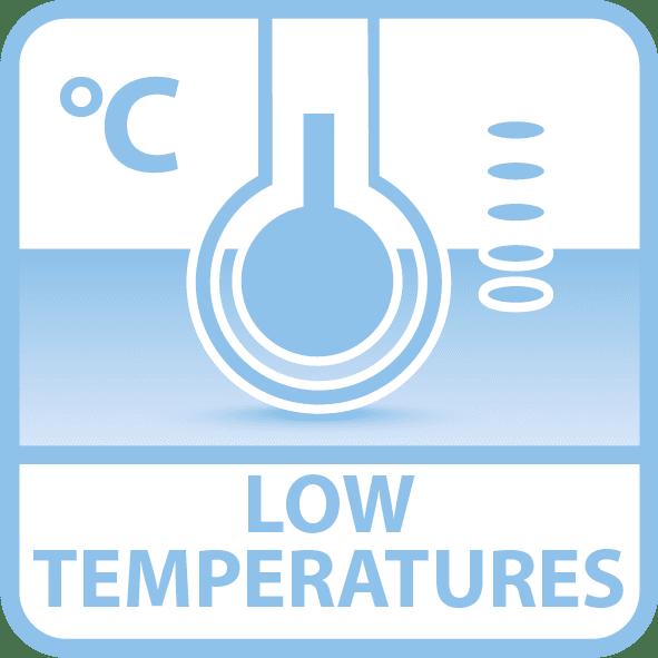 Saicos niedrige Temperatur