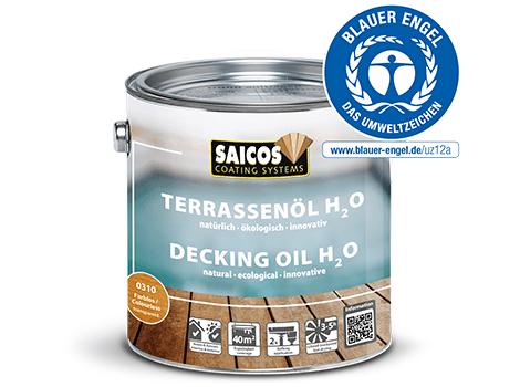 Saicos Terassenöl H2O Blauer Engel umweltfreundlich englisch decking oil