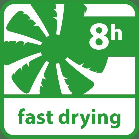Saicos englisch fast drying