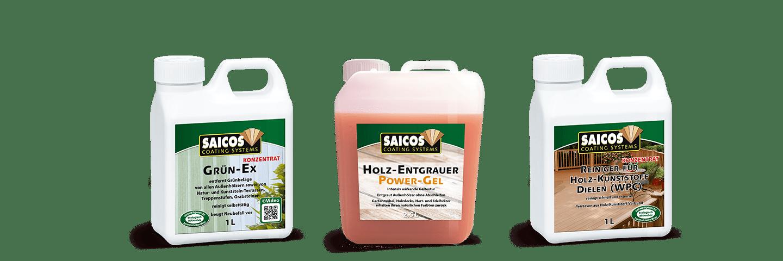 Saicos Ecoline Reinigung un Pflege Außen