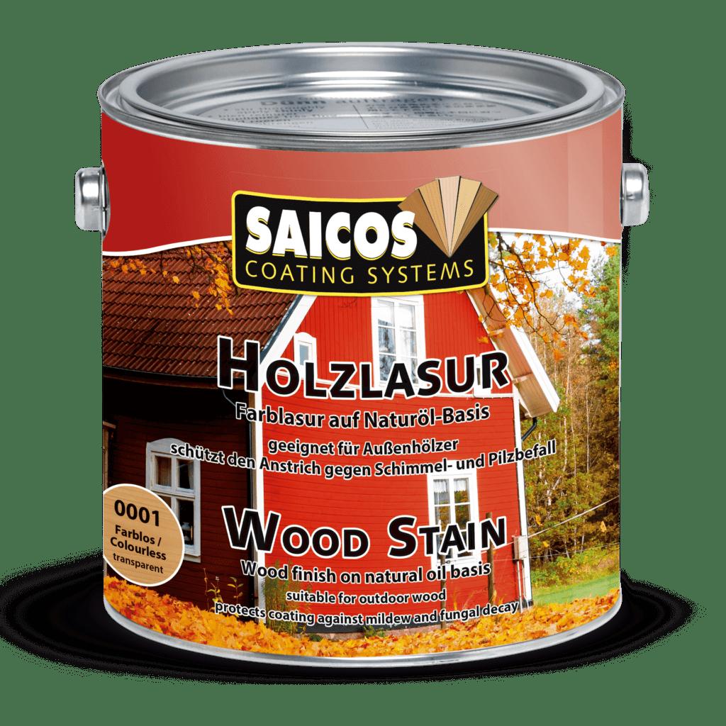 Saicos Holzlasur Wood Stain englisch