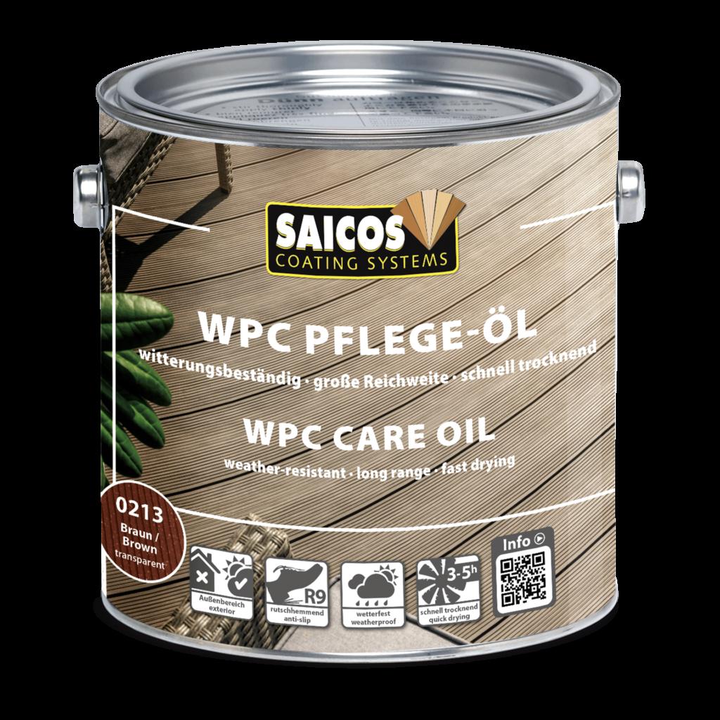 Saicos WPC Pflege Öl