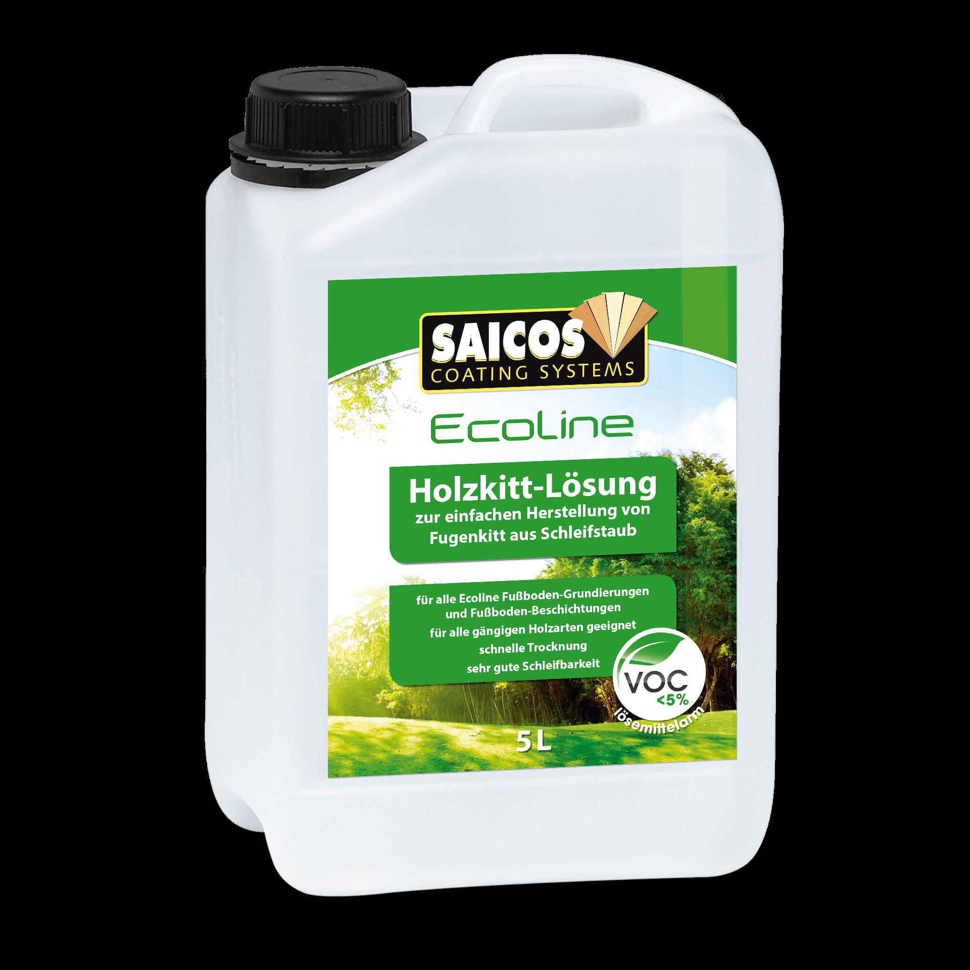 Saicos Ecoline Holzkitt-Lösung