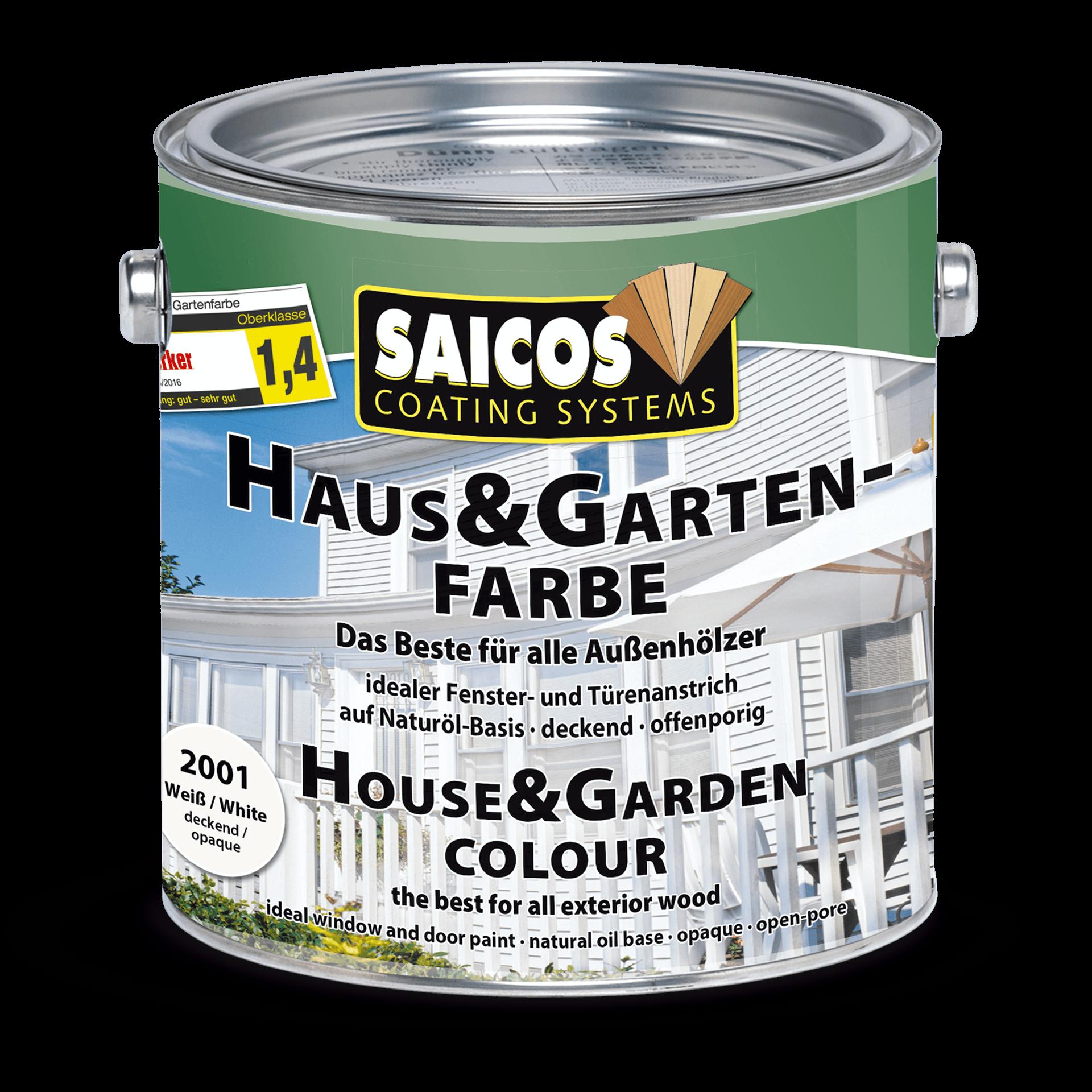 Saicos Haus & Gartenfarbe englisch House & Garden Colour