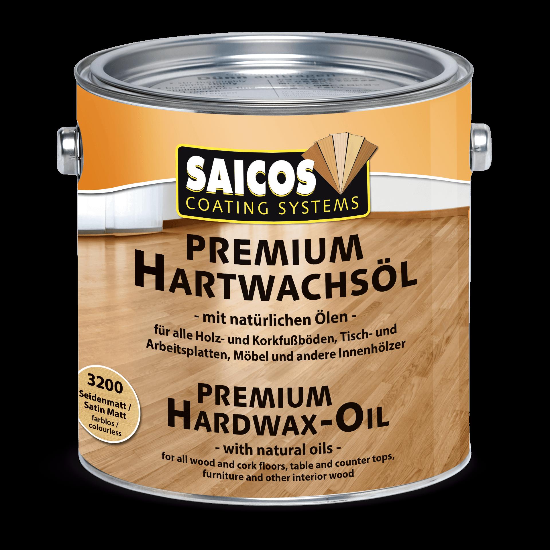 Saicos Premium Hartwachsöl Premium Hardwax-Oil englisch