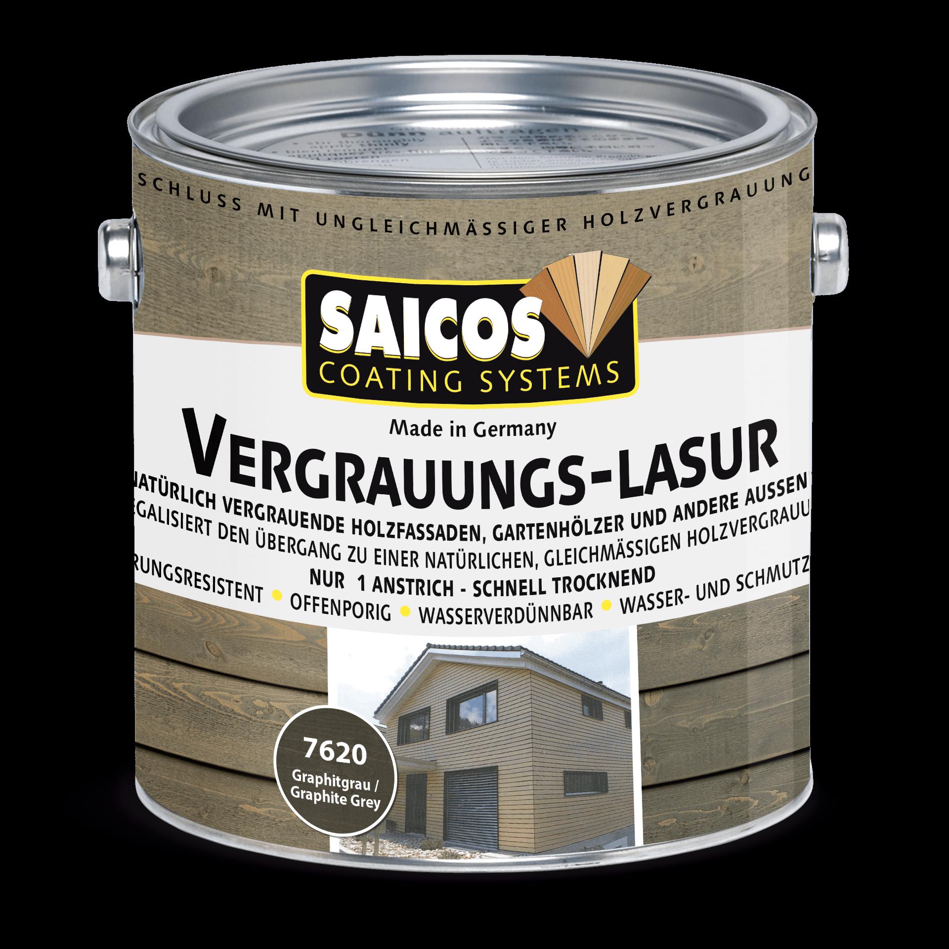 Saicos Vergrauungs-Lasur