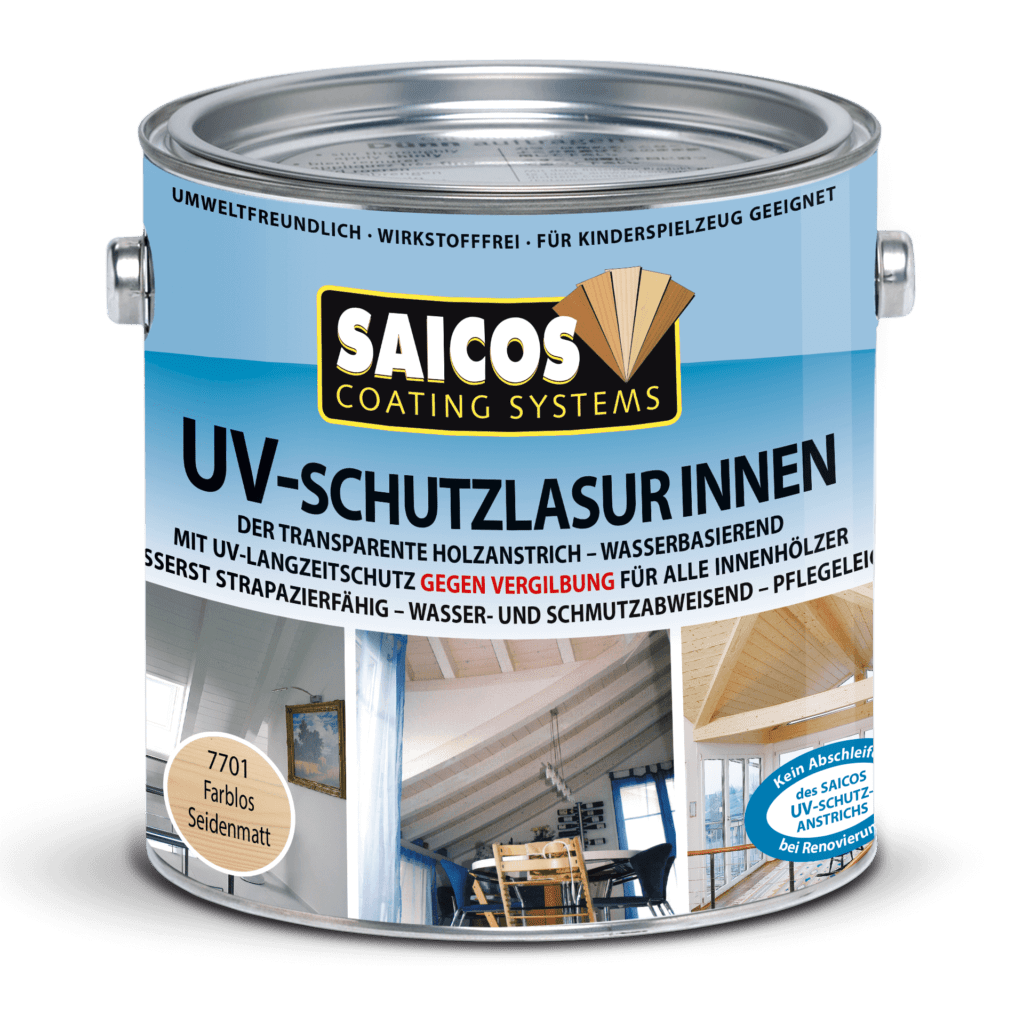 Saicos UV-Schutzlasur Innen