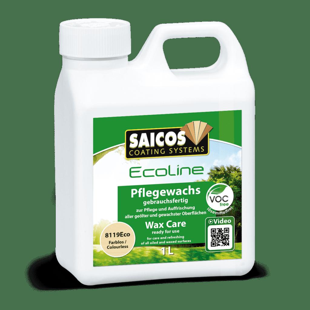 Saicos Ecoline Pflegewachspray Wax Care englisch