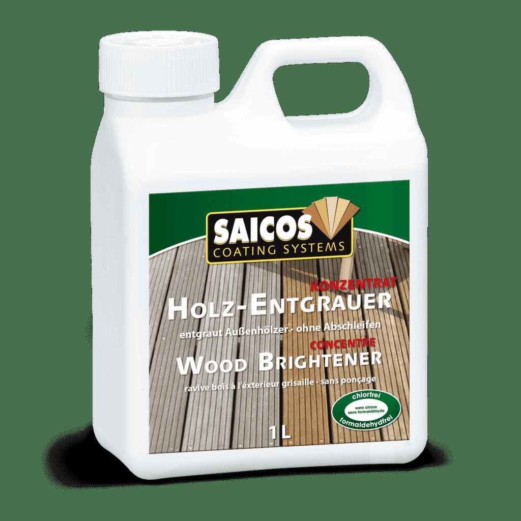 Saicos Holz-Entgrauer Wood Brightener englisch