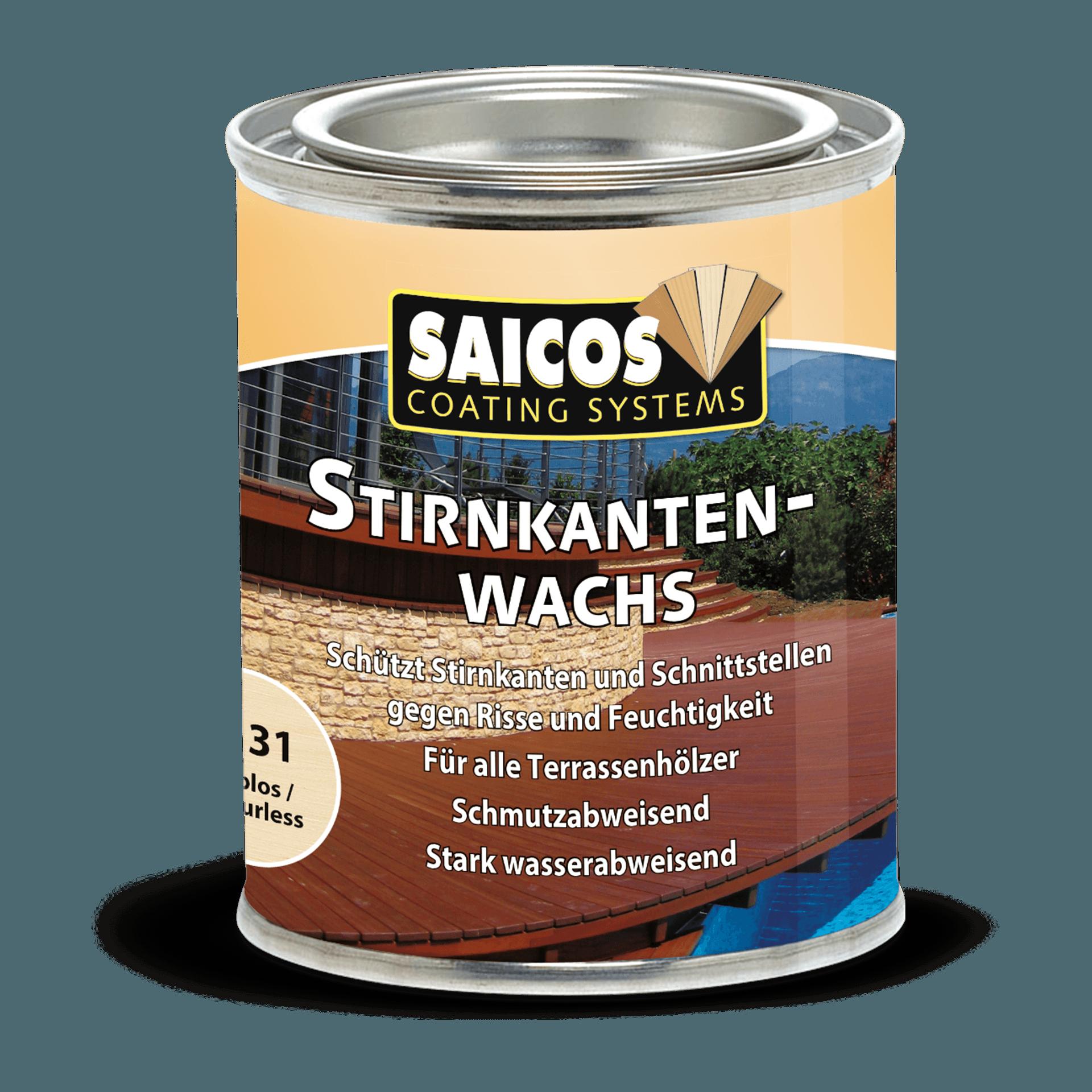 Saicos Stirnkantenwachs