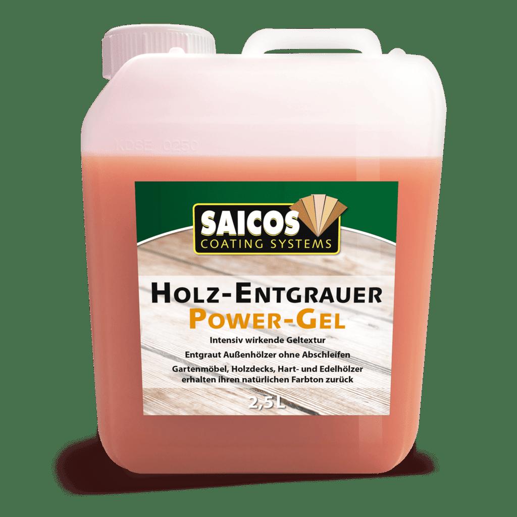 Saicos Holz-Entgrauer Power-Gel