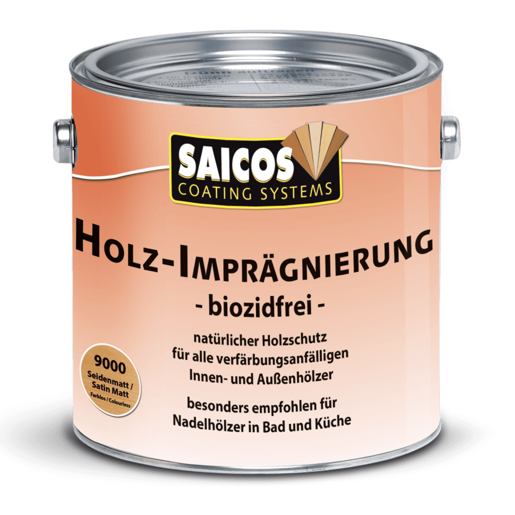Saicos Holz-Imprägnierung